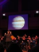 Blasmusik im Weltraum