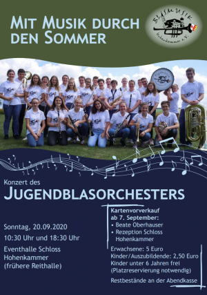 Sommerkonzert 2020 JUBO