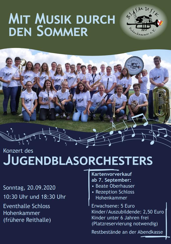 Sommerkonzert des Jugendblasorchesters